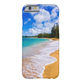 Paraíso tropical de la playa, Hawaii Funda Barely There iPhone 6