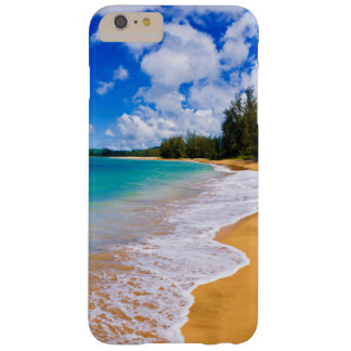 Paraíso tropical de la playa, Hawaii Funda Barely There iPhone 6 Plus