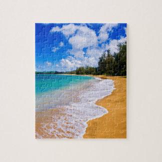 Paraíso tropical de la playa, Hawaii Puzzle