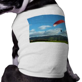 Paramotoring Camiseta De Perrito