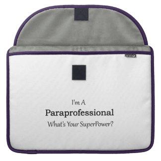 Paraprofessional Funda Para Macbook Pro