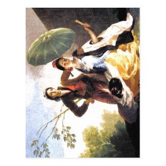 ¿Parasol Espa de Francisco de Goya The? ol: 1776-1 Postal