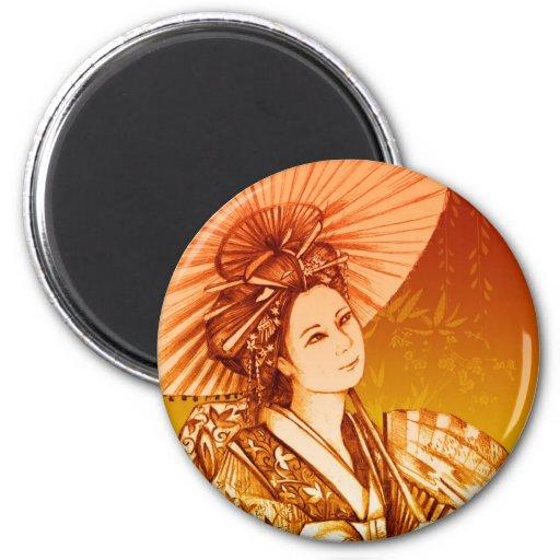 Parasol Imán del geisha