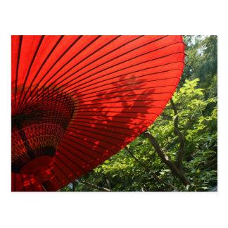 Parasol japonés postal