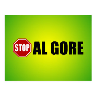 Pare a Al Gore Postal