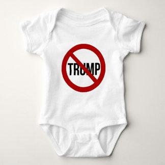 Pare el Anti-Triunfo 2016 de Donald Trump Body Para Bebé