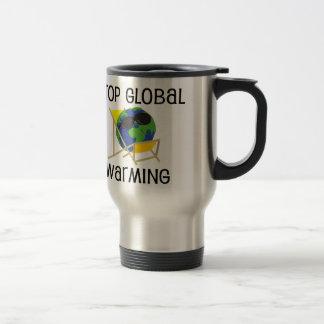 Pare el calentamiento del planeta taza de café