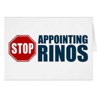 Pare el designar de RINOs Tarjetón