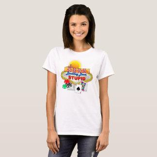 Pare el doblar abajo en la camiseta (ligera)