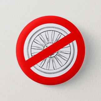 """Pare el jugar """"del botón de la rueda de carro"""""""