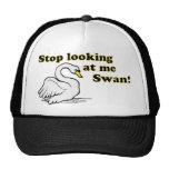Pare el mirar de mí cisne gorras de camionero