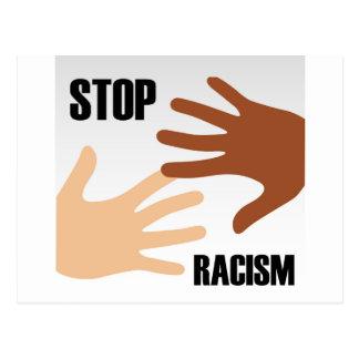 Pare el racismo postal