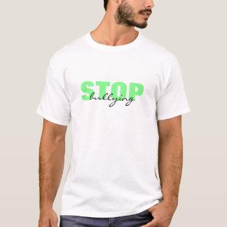 Pare el tiranizar de la camiseta simple verde
