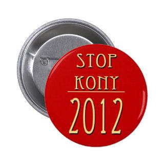 Pare Kony 2012 Chapa Redonda De 5 Cm