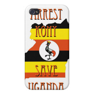 Pare Kony 2012 iPhone 4 Protectores