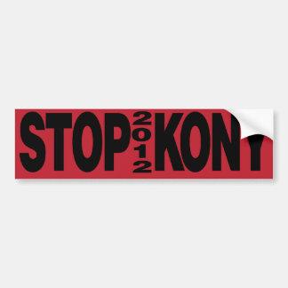 Pare Kony 2012 Pegatina Para Coche