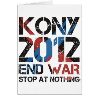 Pare Kony Tarjeta De Felicitación