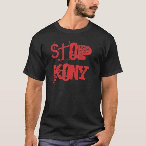 Pare Kony Uganda Camiseta