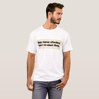 Pare la camiseta de los delincuentes de la