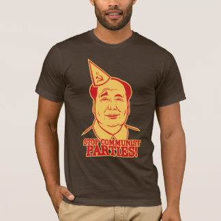 Pare la camiseta de los Partidos Comunistas