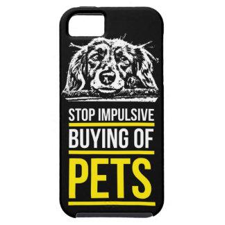 Pare la compra impulsiva de mascotas iPhone 5 Case-Mate protector