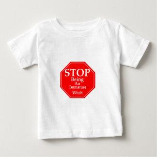 Pare la inmadurez #2 camiseta de bebé