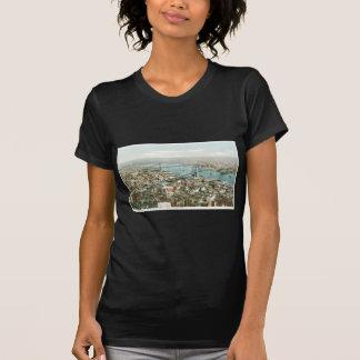 Pareciendo del este de la torre del cantante, camiseta