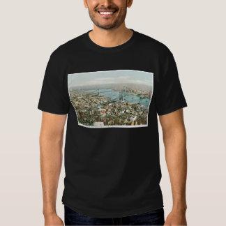 Pareciendo del este de la torre del cantante, camisetas