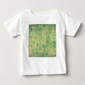 Pared abstracta camiseta de bebé