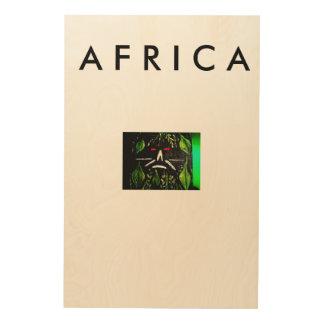 Pared africana del arte