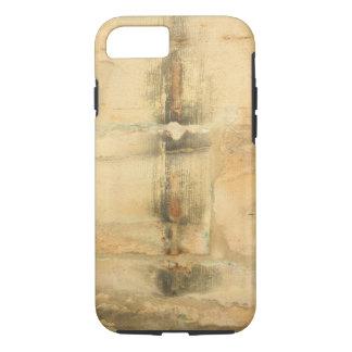 pared antigua de la piedra arenisca funda iPhone 7