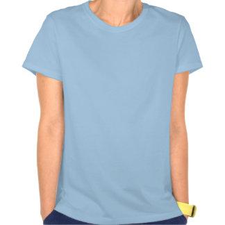 Pared de la pintada camisetas