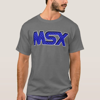 Pared de ladrillo de MSX Camiseta