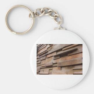 Pared de madera llaveros personalizados