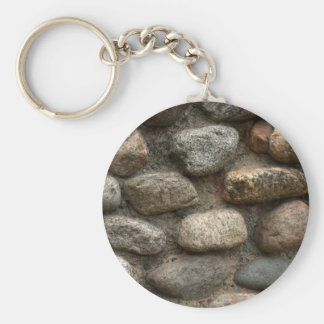 Pared de piedra llavero personalizado