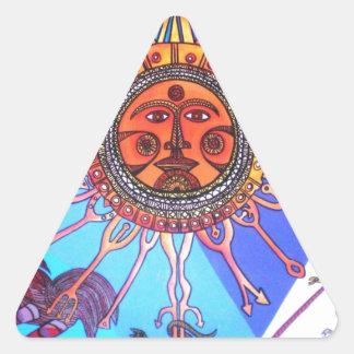 Pared de Uruguay Conrado Pegatina Triangular