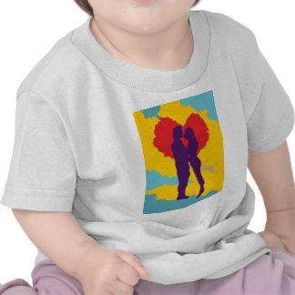 Pareja de enamorados ama love couple camiseta