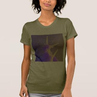Pares de caracoles púrpuras camisetas