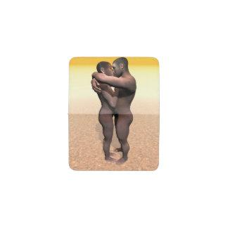 Pares de homo erectus - 3D rinden Tarjetero