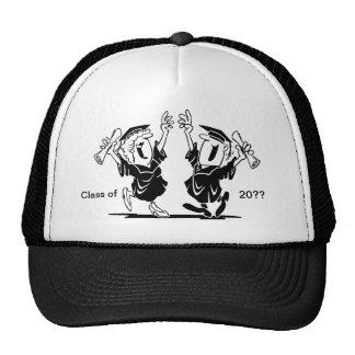 Pares de la graduación - clase de gorras de camionero