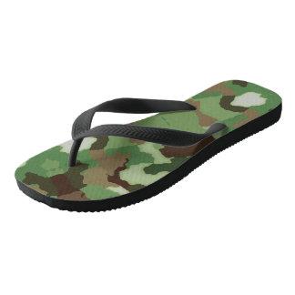Pares de sandalias del flip-flop de la comodidad
