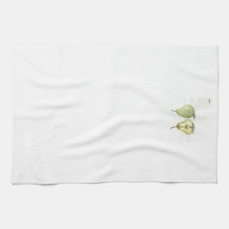 Pares de toalla de cocina de las peras