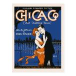 pares del baile del estilo de los años 20, música  tarjetas postales