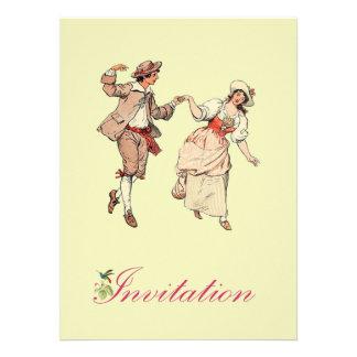 Pares del Commoner del Victorian del baile Comunicado Personal