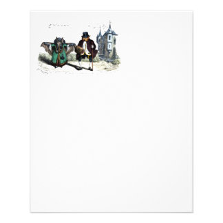 Pares del palo una fecha folleto 11,4 x 14,2 cm