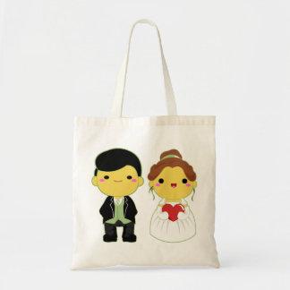 Pares lindos del boda - 02 bolsa de mano