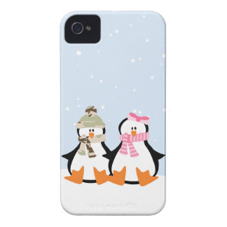 Pares militares del pingüino carcasa para iPhone 4
