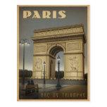 París - Arco del Triunfo Postal