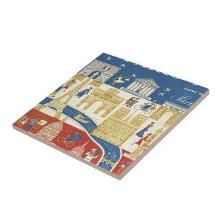 Paris - Azulejo