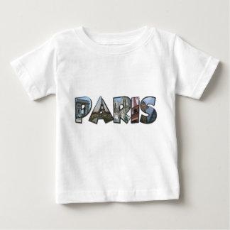 paris camiseta de bebé